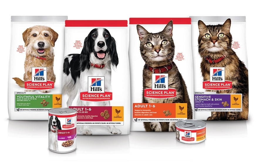 Hill's Science Plan cats & dogs products